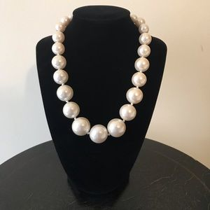 JCrew large pearl necklace